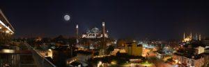 Istanbul in der Nacht